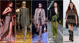 Trendy Jar/Leto 2019, 18 trendov, sezóna, móda, zvieracie vzory
