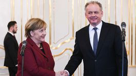 Andrej Kiska, Angela Merkelová