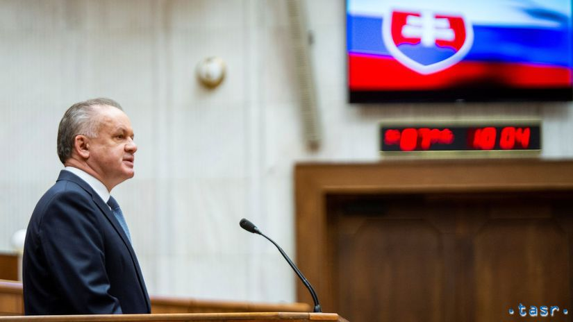 Andrej Kiska, NR SR, parlament
