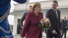 Angela Merkelová, Peter Pellegrini, návšteva