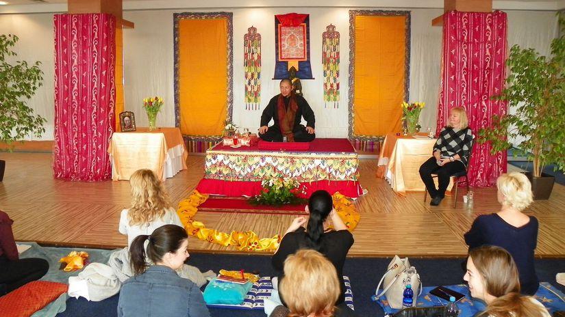 budhistický majster Rinpoche Tulku Láma Lobsang