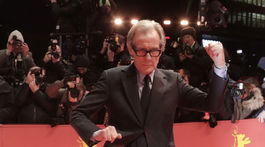 Herec Bill Nighy priniesol do Berlína film The Kindness of Strangers.