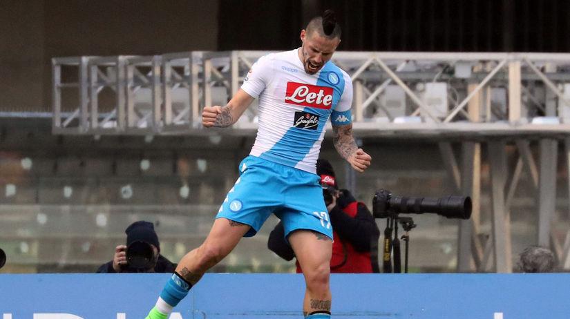 Italy Soccer Serie A Hamšík
