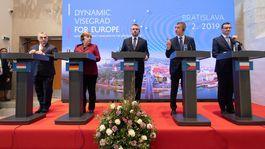 predsedovia vlády, angela merkelová, summit V4