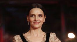 Prezidentka medzinárodnej poroty Berlinale Juliette Binoche.