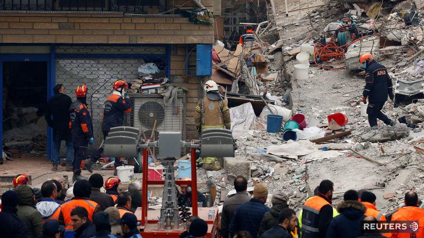 turecko, zrútenie budovy