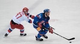 hokej kaufland cup 2019 Slovensko Rusko rosandič
