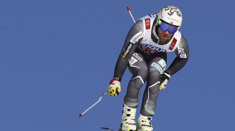 Švédsko alpské lyžovanie MS zjazd muži tréning