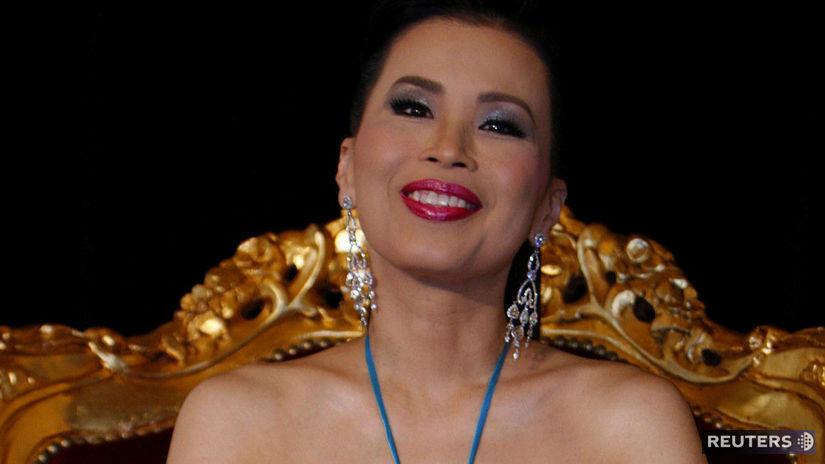 Thajská princezná Ubolratana Radžakanjaová