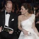Princ William a jeho manželka Kate v hľadisku cien BAFTA.