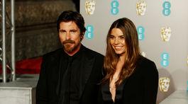 Sibi Blazic a jej manžel - herec Christian Bale.