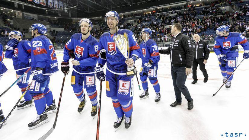 SR Hokej MS2019 Kaufland Cup OT Rusko Sersen