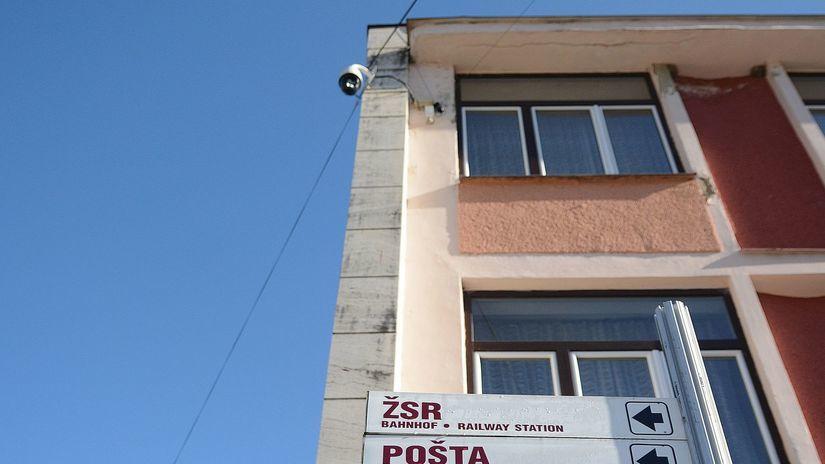 Krompachy, bezpečnostná kamera