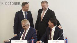 Maďarsko, Szekszárd, prezidenti, V4 summit