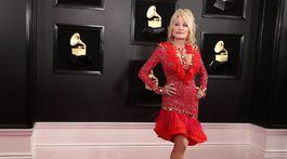 Na vyhlásení cien 61. ročníka Grammy nechýbala ani Dolly Parton.
