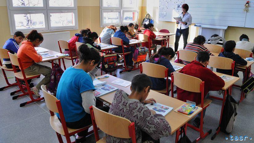 rómovia, deti, škola, výučba