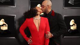 Speváčka Alicia Keys a jej manžel Swizz Beatz.