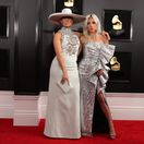Spevácke kolegyne Jennifer Lopez (vľavo) a Lady Gaga.