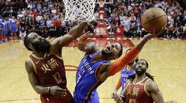 USA Basketbal NBA Houston Oklahoma City