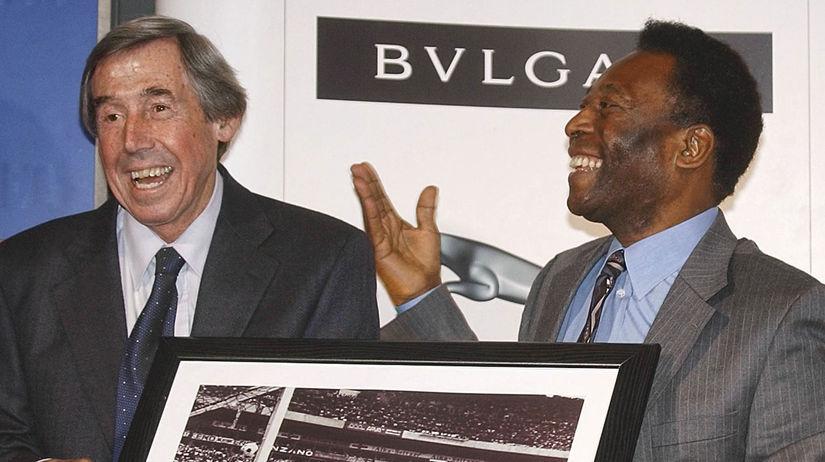 Anglicko Futbal Banks brankár úmrtie 81 Pelé