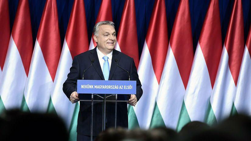 Maďarsko Orbán prejav výročný krajina stav