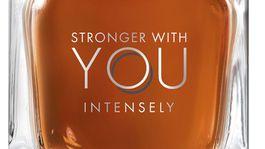 Pánsky valentínsky tip na vôňu: Stronger with you - Intensely by Emporio Armani.