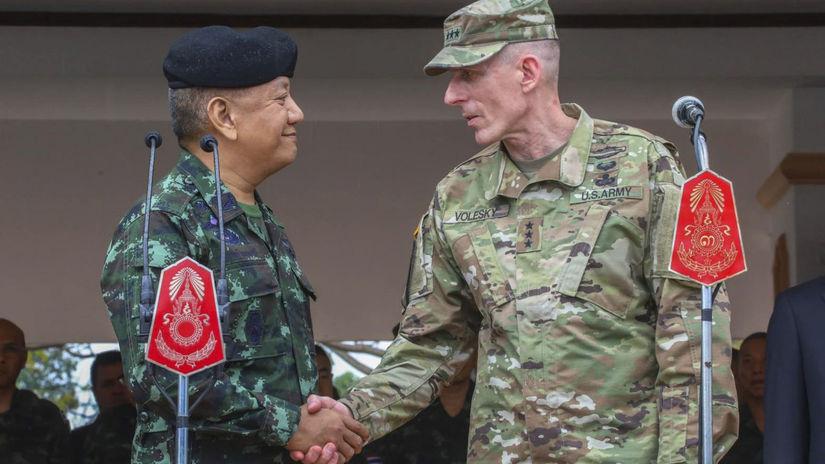 thajsko, USA, cobra gold, vojenské cvičenie