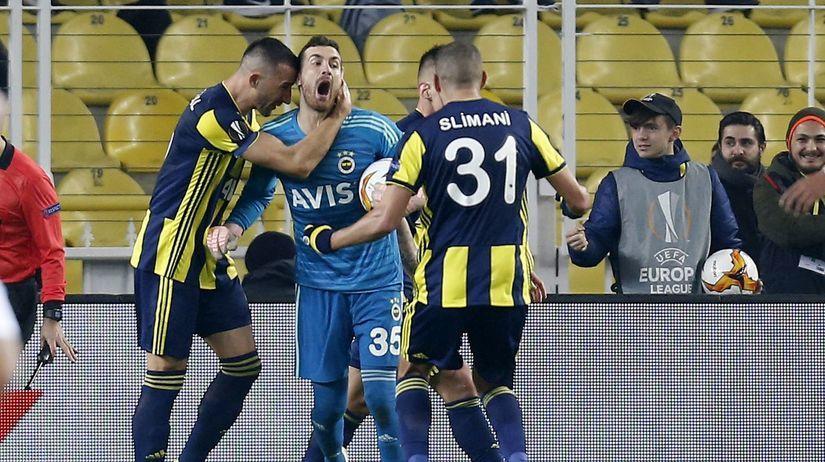 Turkey Soccer Europa League Fenerbahce