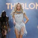 Newyorská boháčka Paris Hilton počas prehlaidky značky The Blonds a kolekcie Jeseň/Zima 2019 v New Yorku.