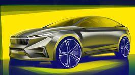 Škoda Vision iV - 2019 skice