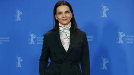Prezidentka medzinárodnej poroty Berlinale - herečka Juliette Binoche