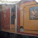 Taliansko Pompeje freska ďalšia objav Narcis