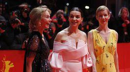 Trudie Styler, Juliette Binoche a  Sandra Hueller