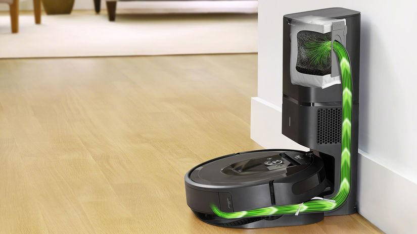 iRobot, Roomba, i7, i7+, robotický vysávač
