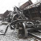 krompachy, nákladný vlak, vykolajenie