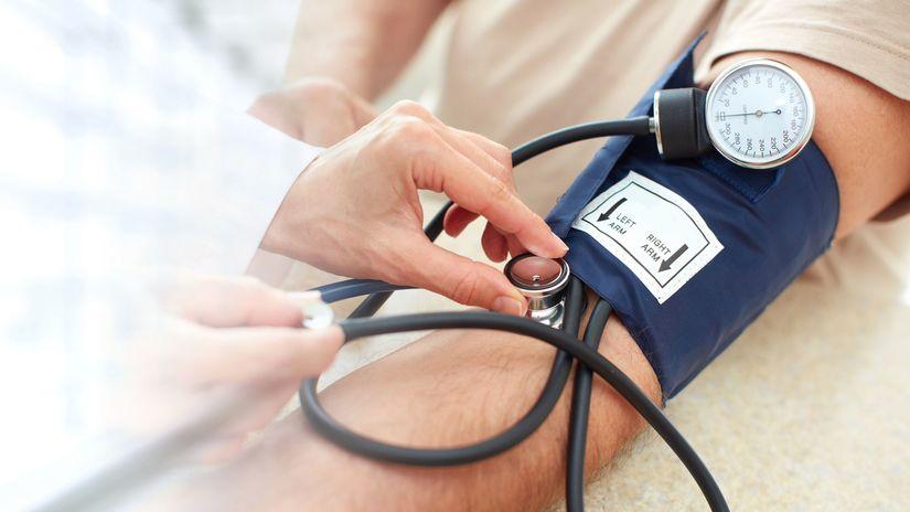 ruka, tlakomer, tlak, krvný tlak