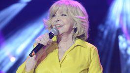 Speváčka Hana Zagorová bola jednou z hlavných hviezd programu.