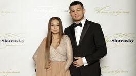 Speváčka Monika Bagárová debutovala na spoločenskej akcii s novým partnerom - zápasníkom Makhmudom Muradovom.