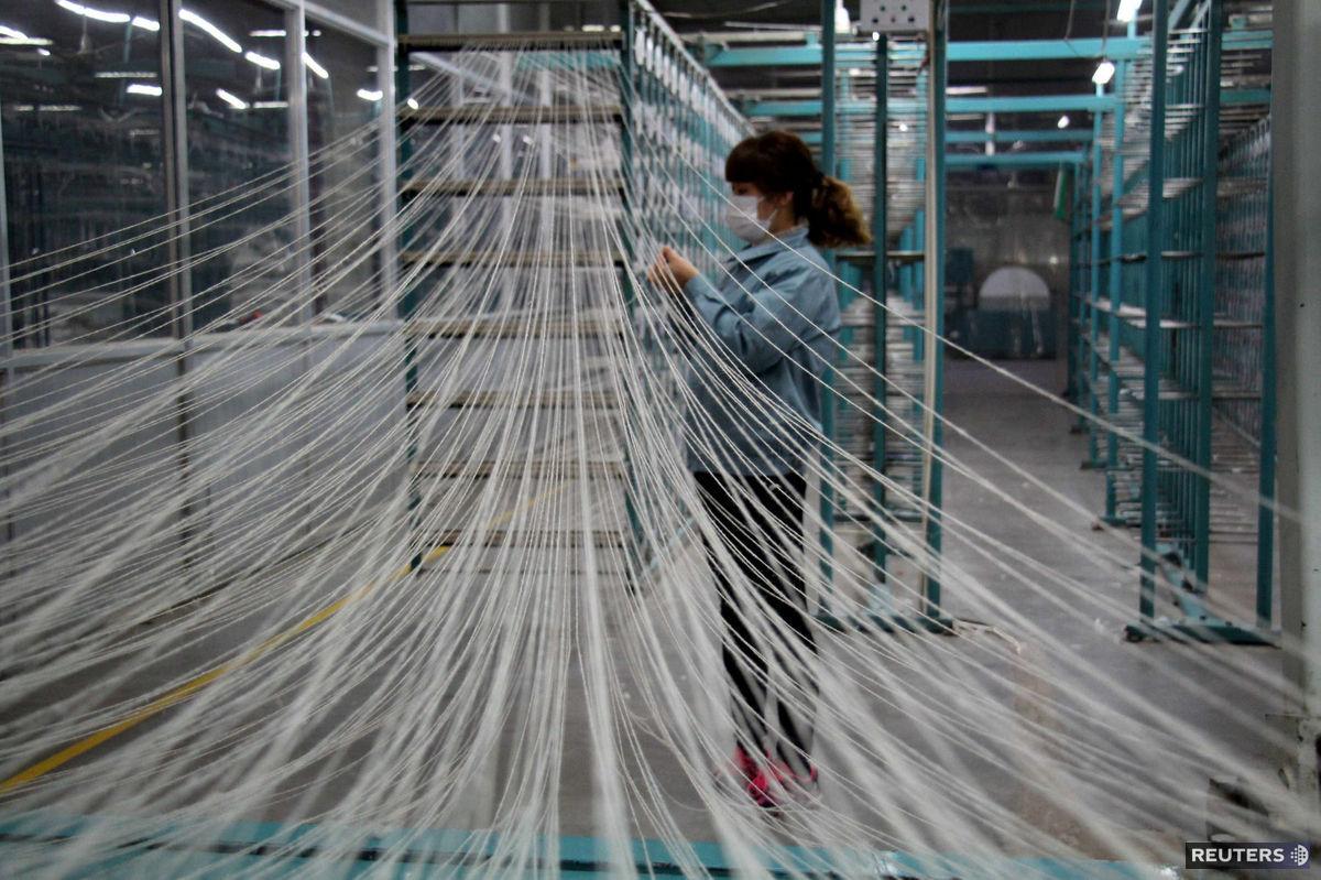 textil, Čína