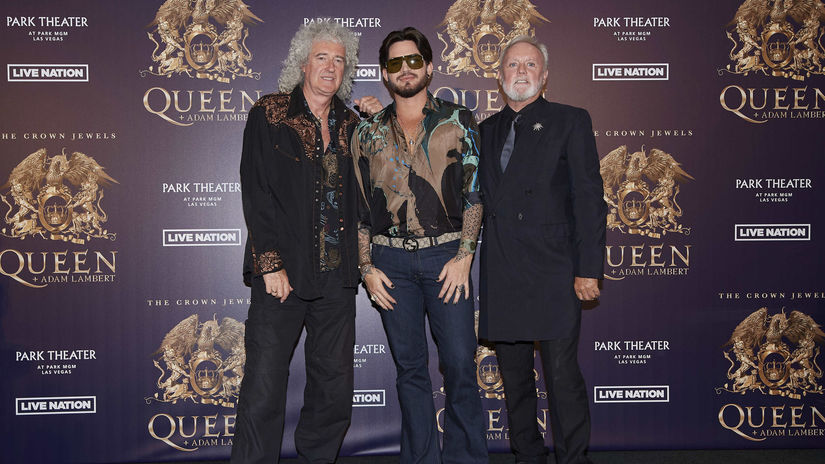 Brian May Adam Lambert Roger Taylor Queen