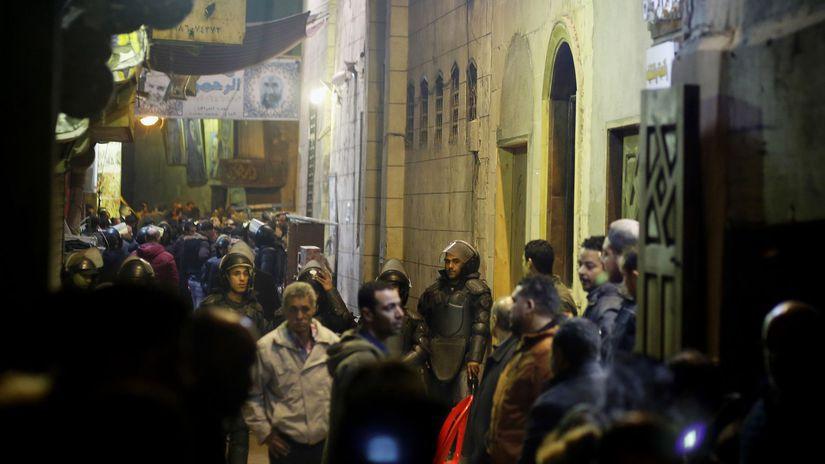 Egypt, káhira, bombový útok