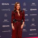 Na ceremoniál Laureus World Sports Awards prišla aj bývalá krasokorčuliarka Katarina Witt.