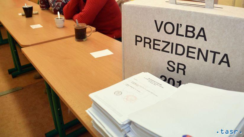 volebná urna, prezidentské voľby