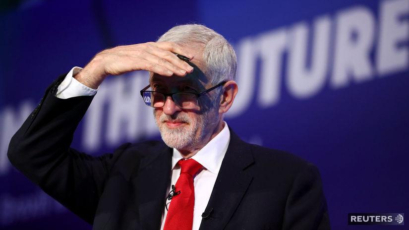 Jeremy corbyn, británia, labouristi