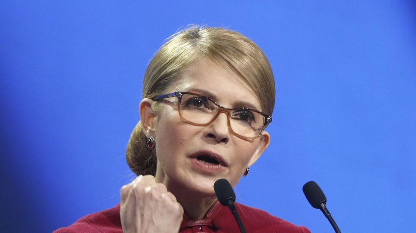 Ukrajina Tymošenková prezident kandidatúra