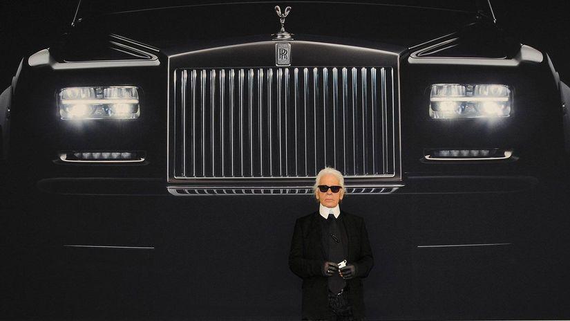 Karl Lagerfeld - autá