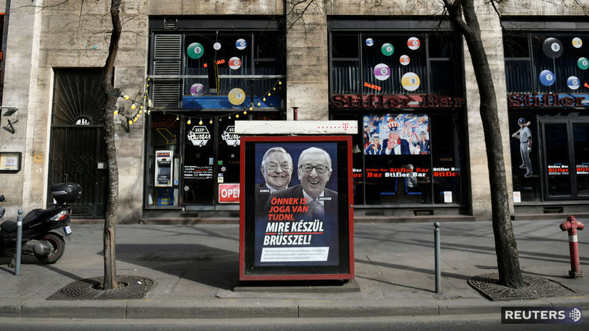 maďarsko, soros, juncker, fidesz, kampaň