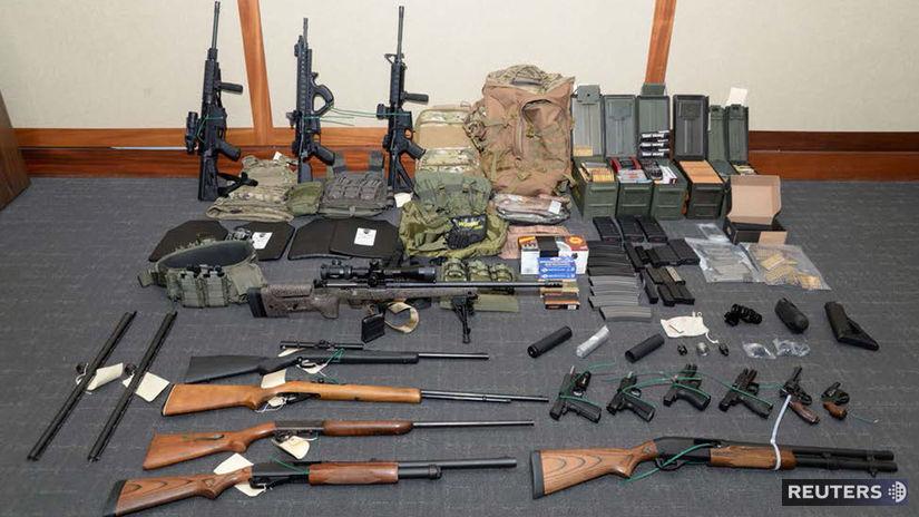 USA, maryland, zbrane, Hasson, munícia