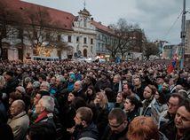 vyrocie, spomienka, kuciak, nam. snp, protest, za slusne slovens