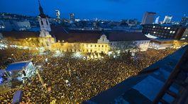 zhromaždenie, Za slušné Slovensko